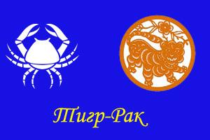 тигра гороскоп рак зодиак год